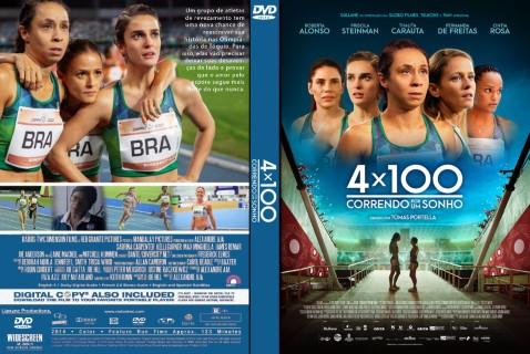 4×100: Correndo por um Sonho (2021) DVD-R AUTORADO – AUTORADOS VIP*